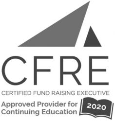 CFRE Certified Fund Raising Executive Approved Provider for Continuing Education 2019