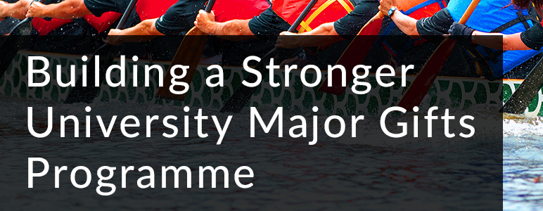 Building a Stronger University Major Gifts Programme
